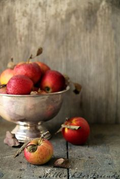 Baked Apples, à la Mode - easy as pie (easier!) - Will Cook For Friends