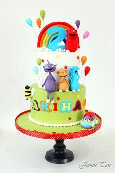 Cuddlies  - Cake by Joonie Tan