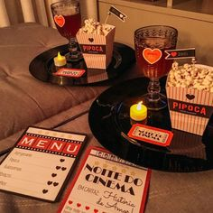 These Scary Movie Date Night ideas are complete with fun printables for a cute date night with your spouse or customize it for a tween slumber party. Creative Gifts For Boyfriend, Presents For Boyfriend, Birthday Gifts For Boyfriend, Boyfriend Gifts, Cute Couple Gifts, Love Gifts, Romantic Dinners, Romantic Gifts, Romantic Room Decoration