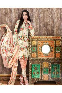 Get floral this season wearing this Cream and Pink floral printed salwar suit.. #salwarsuitsforwomen #womensethnicwear #ethnicwearforwomen #pakistanilawnsuitsforwomen #womenslawnsuits #womensfashion #ethnicwear #indianethnicwear https://trendybharat.com/women/ethnics-wear/women-ethnic-wear-pakistani-lawn-suits/cream-and-orange-cotton-cambric-salwar-suit-set-sf007