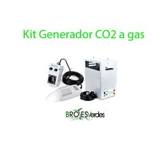 Kit CO2 generador, controlador y sonda