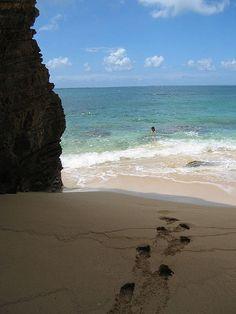 Secret Beach, Baie Rouge, St Martin