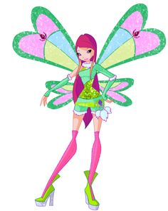 Forget about Musa.... I'm way more like roxy the animal fairy