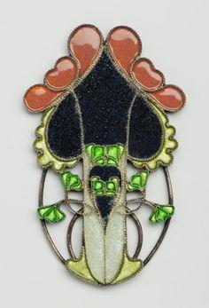 Art Nouveau Tarján (Huber), Oszkár (1875-1933) Date: ca. 1900 Place of production: Budapest Materials silver Techniques émail cloisonné de plique -