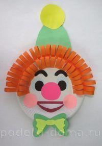 clown-aus-pappteller-basteln-dekoking-com-4