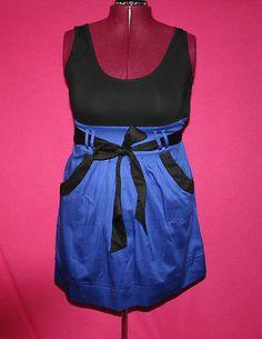 "Australia's ""City Chic"" Dress So Cute in Blue Cobalt Size 14 | eBay"
