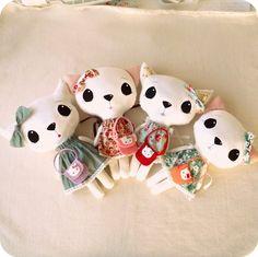 Gingermelon Dolls: Cloth Kitten Pattern Winners!