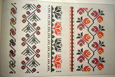 tipare de ie nationala - Поиск в Google Loom Beading, Embroidery Patterns, Easter Eggs, Folk Art, Bohemian Rug, Cross Stitch, Traditional, Costumes, Ornaments
