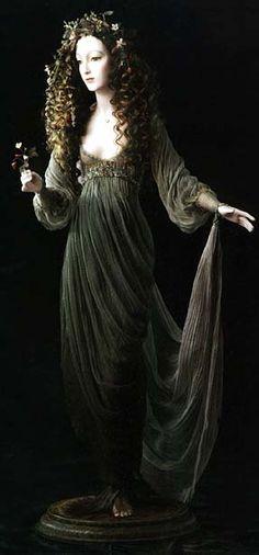 "Forest Fairy by ""Alexandra"" Company, Russia, founded by Alexandra Koukinova"