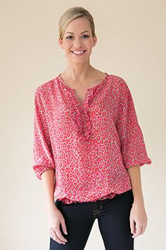 Ocelot, Silk Top, Spring Summer, Tunic Tops, Blouses, Pink, Collection, Women, Fashion