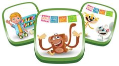 Get Ready for Kindergarten  Bundle (3-5 yrs old) | Early learning opportunities strongly correlate to later academic success. The apps in this bundle provide a fun, age-appropriate introduction to all that is kindergarten—friends, classroom activities and learning.
