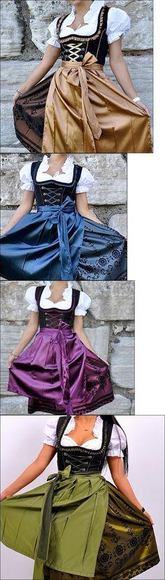 Dirndls 163143: 043.. Dirndl Oktoberfest German Austrian Dress - Sizes: 6.8.10.12.14.16.18.20.22 -> BUY IT NOW ONLY: $44.9 on eBay!