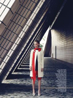 visual optimism; fashion editorials, shows, campaigns & more!: postcards from hong kong: claudia wilkinson by nicole bentley for marie claire australia january 2015