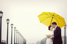 Note to self... if it's raining on our wedding day- find a yellow umbrella to reference our favorite show (How I Met Your Mother!) If only the guy I know I'm going to marry liked this show so we could do this