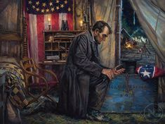 """""""...Nowhere Else to Go."""" by Nathan Greene """"I have been driven many times to my knees by the overwhelming conviction that I had nowhere else to go"""" Abraham Lincoln"""