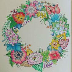 #MagicalJungle #johannabasford #mycreativeescape #prismacolorscholar…