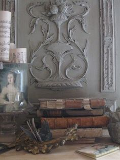 Old World Vignette French Country Cottage, French Country Style, French Decor, French Country Decorating, French Grey, French Chic, Relax, Architectural Salvage, Architectural Elements