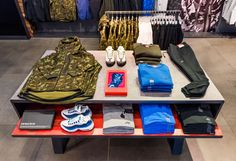 NIKE TECH PACK | Retail Interior at NikeTown, London, September 2015 by…