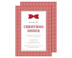For The Paige simple You Don't Yet Know. Christmas Dinner Invitation, Dinner Invitations, Ecommerce Hosting, Candy Cane, Rsvp, Arts And Crafts, Holidays, Dining, Studio