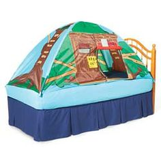 Treehouse Bed Tent  sc 1 st  Pinterest : tree house bed tent - memphite.com