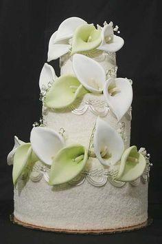 .Calla Lilly - my wedding flower - wish I had this!