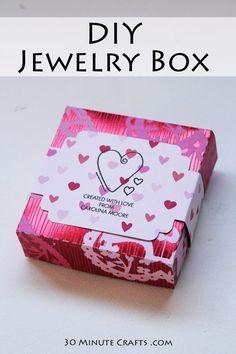 Stampable Jewelry Box