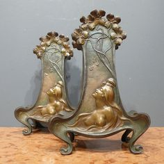 Online veilinghuis Catawiki: Claude Bonnefond - Een paar Art Nouveau vazen