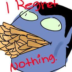 #Marceline's Dad #regret nothing #Adventure Time
