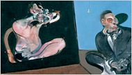Francis Bacon at the Met- I believe he was a genius. You have to see his work in person to really appreciate the thick paints and the difficulty of what he created.