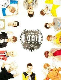 XOXO #Xiumin #Luhan #Kris #Suho #Lay #Baekhyun #Chen #Chanyeol #Sehun #Tao #Kai #DO #Oppa #Fighting
