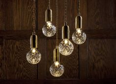 Crystal Bulb Clear With Pendant