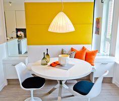 A sala de almoço é o local aonde se reúne a família para os momentos agradáveis e, por isso, deve ser funcional e convidativa.