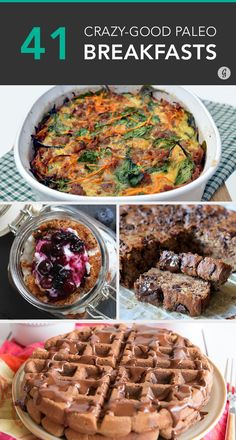 No grains, no dairy, no problem! #paleo #breakfast #recipes http://greatist.com/eat/paleo-breakfast-recipes