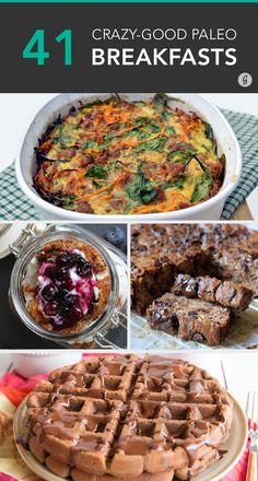 No grains? No problem! #paleo #breakfast #recipes
