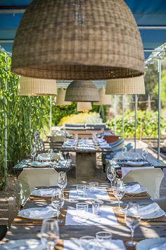 The Giri Café, Ibiza - Ibiza style..Restaurant interior design inspiration byCOCOON.com #COCOON Dutch designer brand.                                                                                                                                                      More