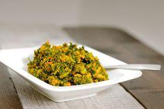Boerenkool stamppot pompoen is gezond en wordt zonder aardappelen bereid. Het boerenkool stamppot pompoen recept is daardoor koolhydraat arm.