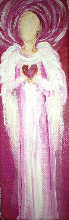 Angel Painting- My sisters heart. $40.00, via Etsy.