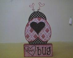 LOVE Bug! LOVE this one!! At WOOD Creations!