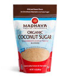LOVE coconut sugar!