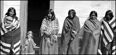 Crow women and two Children. Photographed: 1871. National Anthropological Archives, Smithsonian Institution.