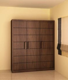 Wardrobe with openable style shutter: modern Bedroom by NVT Quality Build solution Wall Wardrobe Design, Wardrobe Interior Design, Wardrobe Door Designs, Wardrobe Room, Door Design Interior, Bedroom Closet Design, Sliding Wardrobe, Latest Cupboard Designs, Bedroom Cupboard Designs