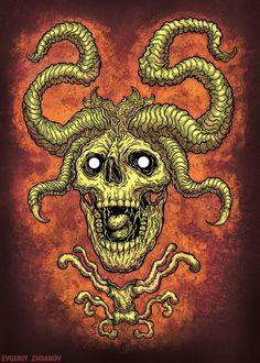 Ознакомьтесь с моим проектом в @Behance: «Angry Skull» https://www.behance.net/gallery/45829251/Angry-Skull