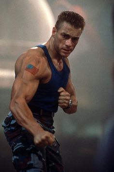Jean-Claude Van Damme in Street Fighter