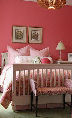 Benjamin Moore pink blossom