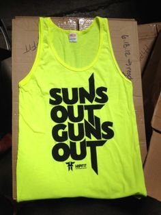 haha totally buying this for the boy. Suns out guns out #getfit