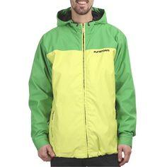 Pánská bunda FUNSTORM PERZI green Mens Outdoor Jackets, Skateboarding, Bmx, Snowboarding, Rain Jacket, Windbreaker, Green, Shopping, Fashion