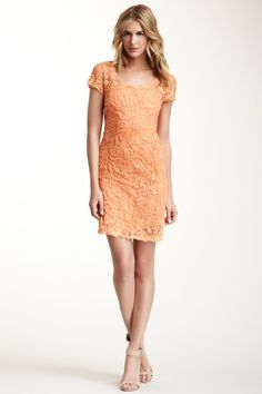 Aurelie Lace Embroidered Dress