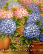 Endless Summer Hydrangea ePacket by Donna Hodson - PDF DOWNLOAD