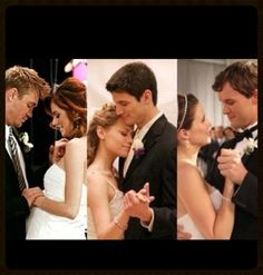 Happily ever after. The couples. Lucas and Peyton, Nathan and Haley, Brooke and Julian.