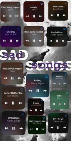 Music Mood, Mood Songs, Guitar Chords For Songs, Music Songs, Heartbreak Songs, Chill Songs, Depressing Songs, Song Suggestions, Good Vibe Songs
